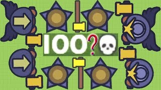 Moomoo.io - 100 Kills With Tool Hammer? - The No Upgrades Challenge #2: Golden Tool Hammer