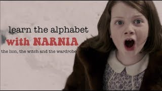 LEARN THE ALPHABET WITH NARNIA