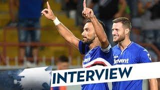 Sampdoria-Napoli, Quagliarella: «Gol da sogno, vittoria stupenda»