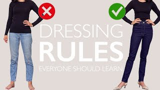 Правила одягання всі повинні раз і назавжди засвоїти