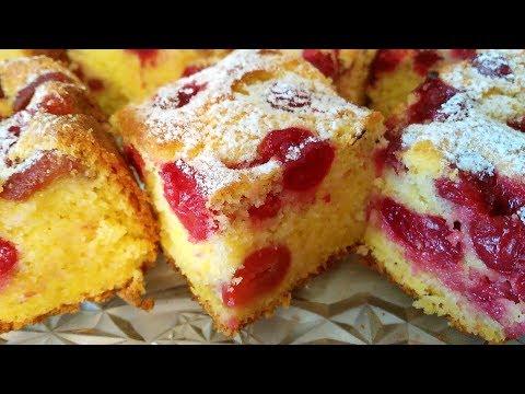 Bakina kuhinja - kolač sa višnjama sjajan recept