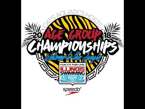 2018 Illinois Swimming Age Group Championships - Thursday 10 & U Session