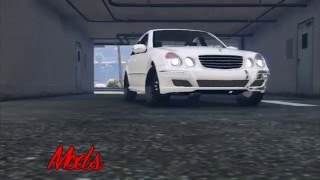 Grand Theft Auto V - MODS PC - Mercedes-Benz E55 W211 ///AMG (Download)