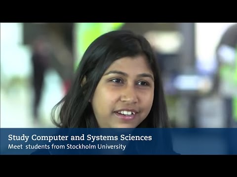"""""""I've learnt so much"""" –Computer and Systems Sciences in Stockholm"""