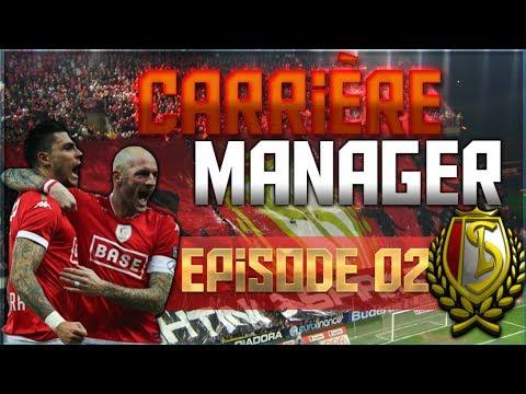 FIFA17 - Carrière Manager Standard de Liège #02 On construit