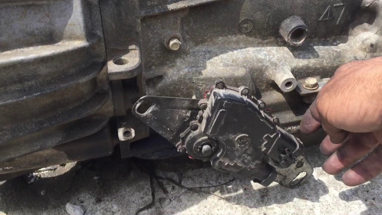 Chevy Trailblazer Shfter Stuck How Fix It