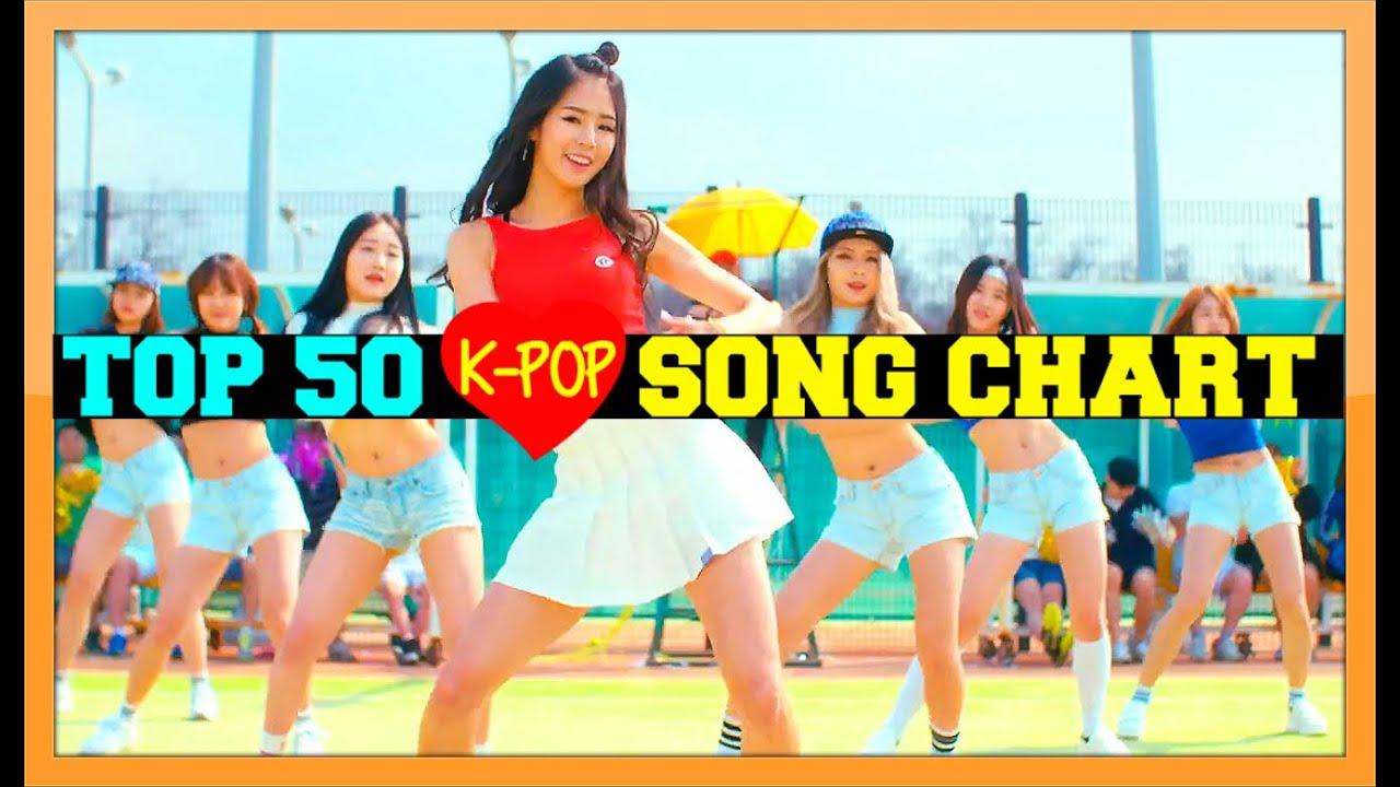 [TOP 50] K-POP SONGS CHART - JUNE 2016 (WEEK 4)