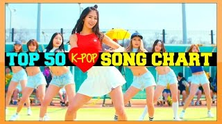 [TOP 50] K-POP SONGS CHART - JUNE 2016 (WEEK 4)