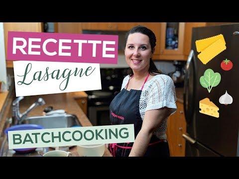 recette-batch-cooking-|-lasagne-|-10-minutes-chrono-⏳