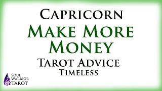 🍀CAPRICORN MAKE MONEY Tarot Advice Soul Warrior Tarot Love