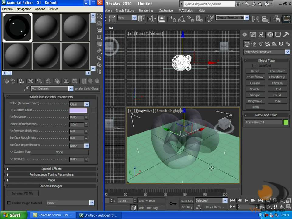 3d Max Tutorial Mental Ray Glass Rendering Youtube