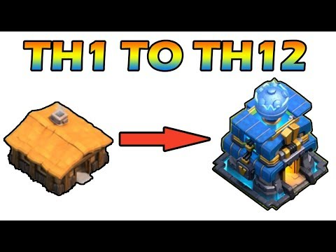 New COC TH1 To TH12  Max Within 30 Minutes 2018
