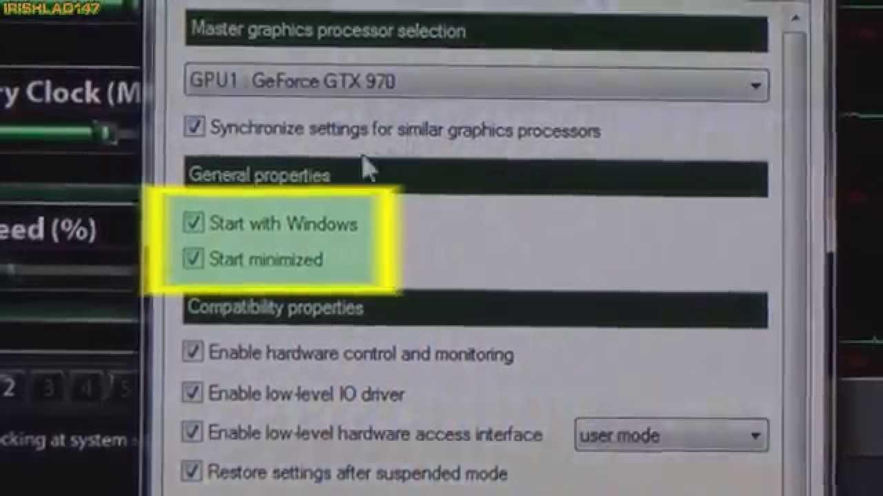 MSI Afterburner Tutorial » OcUK GTX 970 Fan Profile & On Screen Display Guide - YouTube