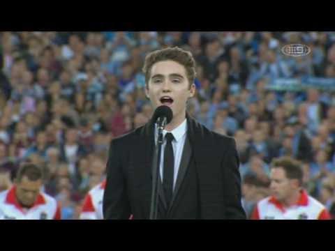 State Of Origin 2013, National Anthem (Harrison Craig)