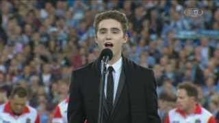 State Of Origin 2013, National Anthem (Harrison Craig)