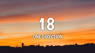 Download Mp3 One Direction - 18  Lyrics