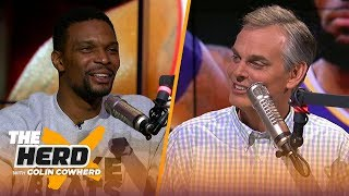 Chris Bosh on the pressures of playing with LeBron, state of the Lakers & retiring | NBA | THE HERD