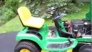My new 2004 John Deere LT160! test drive and overview