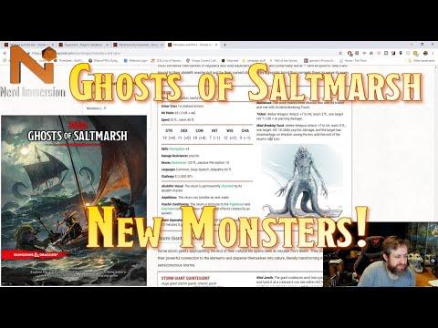 New Monsters in Ghosts of Saltmarsh   Nerd Immersion