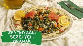 Zeytinyağlı Bezelyeli Ispanak Tarifi | Yemek Ekranı