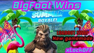 BIGFOOT GETS SUMMER VIC - Fortnite Battle Royale