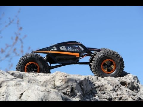 Axial XR10 Free Style Rock Crawling At The Great Lakes