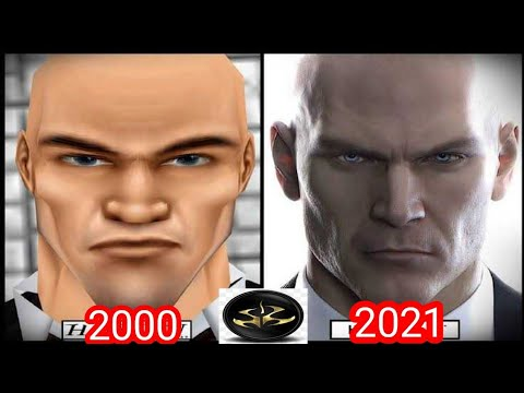 Evolution of Hitman games 2000-2021 |