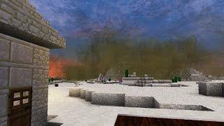 First Minecraft Sandstorm Encounter!