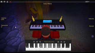 Canon in D by: Johann Pachelbel on a ROBLOX piano. [Revamped]