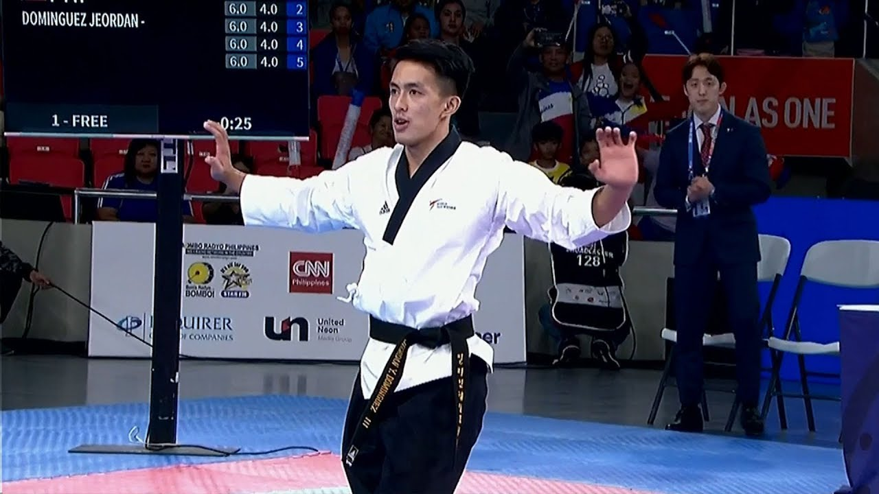 Jeordan Dominguez Wins Gold Medal In Freestyle Poomsae Taekwondo