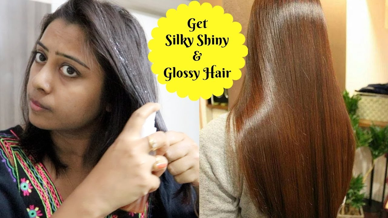 how to make your hair naturally shiny