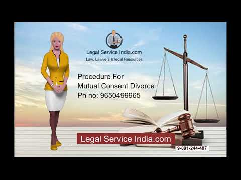 Complete Procedure for mutual Consent Divorce in India