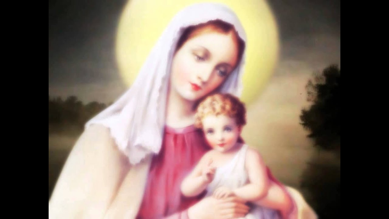 mother mary with baby jesus youtube