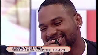 Igor Benza surpreende a sua namorada Zuleica Wilson durante o programa.