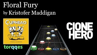 Floral Fury Cuphead Ost By Kristofer Maddigan Clone Hero Chart