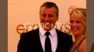 Matt LeBlanc and Andrea Anders at the 2011 Emmy Awards Red Carpet