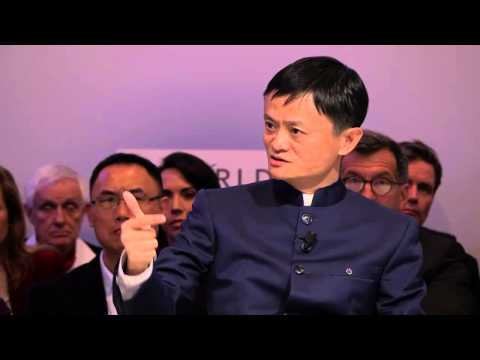 Jack Ma's interview with Charlie Rose at Davos, 2015