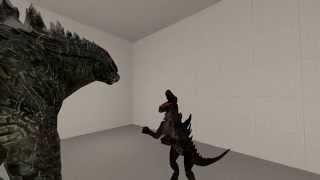 [SFM] Godzilla 2014 and Zilla