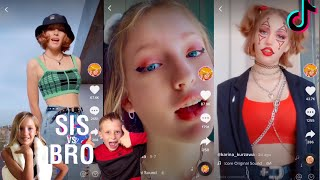 Karina kurzawa (from Sis vs Bro) latest tiktok compilation PART 2