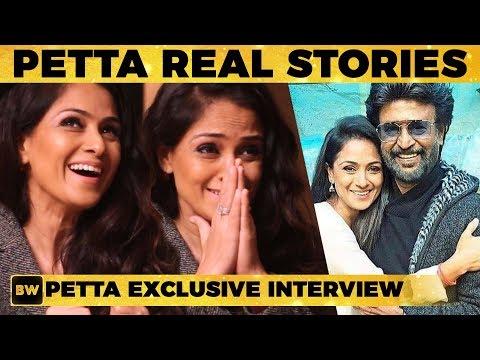 Rajini Sir - Petta REAL Stories - Simran NARRATES   Rajinikanth