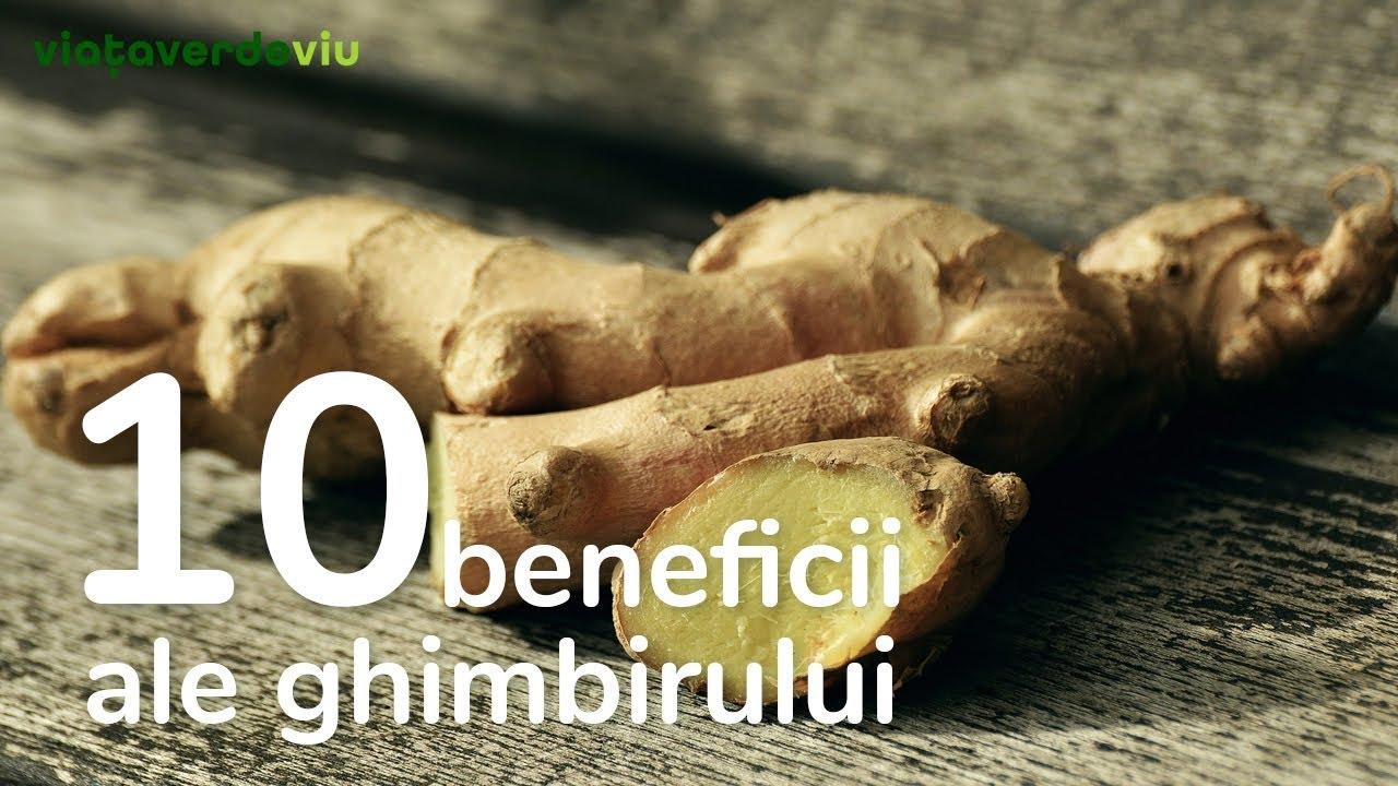 10 beneficii ale ghimbirului