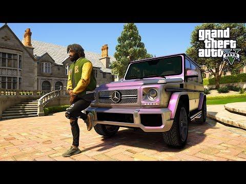 GTA 5 REAL LIFE MOD #4 NEW JOB NEW CAR! (GTA 5 REAL LIFE MOD)