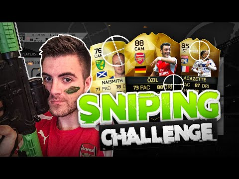 FIFA 16  50K SNIPING CHALLENGE vs HomelesPenguin  SNIPING EXTINCT AND RARE PLAYERS