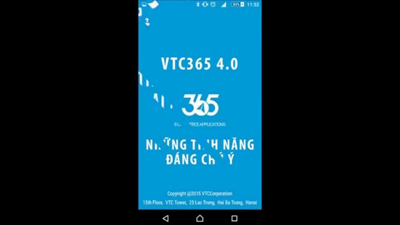 [VTC365] Nạp tiền, mua thẻ, chuyển tiền chỉ MỘT CÚ CHẠM!