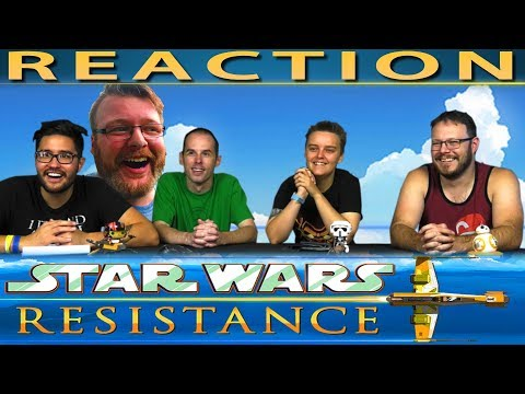 First Look Trailer - Star Wars Resistance REACTION!! [Plus Eric's Thoughts]