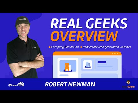 Real Geeks Overview | Company Backround | Real estate lead generation websites