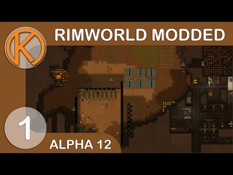 RimWorld Zombie Apocalypse - Contagious Shrublands [1] - Let's Play RimWorld Alpha 12 Modded