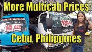 More Multicab Prices in Cebu. (Requested Video)