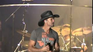 Tim McGraw at Country USA 2015 - Where The Green Grass Grows