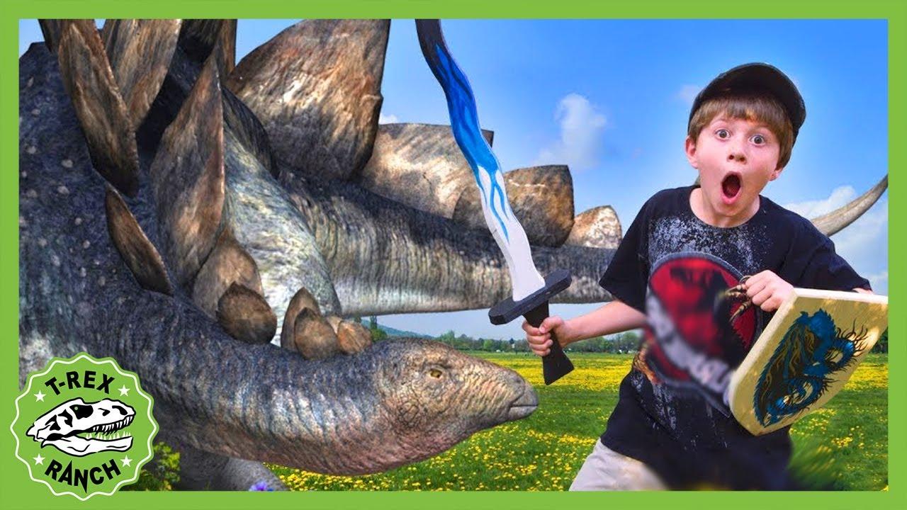 Download Dinosaur Battle at Renaissance Festival! T-Rex Ranc Adventures for Kids!